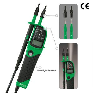 Multifunctional Voltage Tester with Digital Display