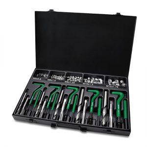 130PCS Professional Threaded Coil-Insert Repair Kit